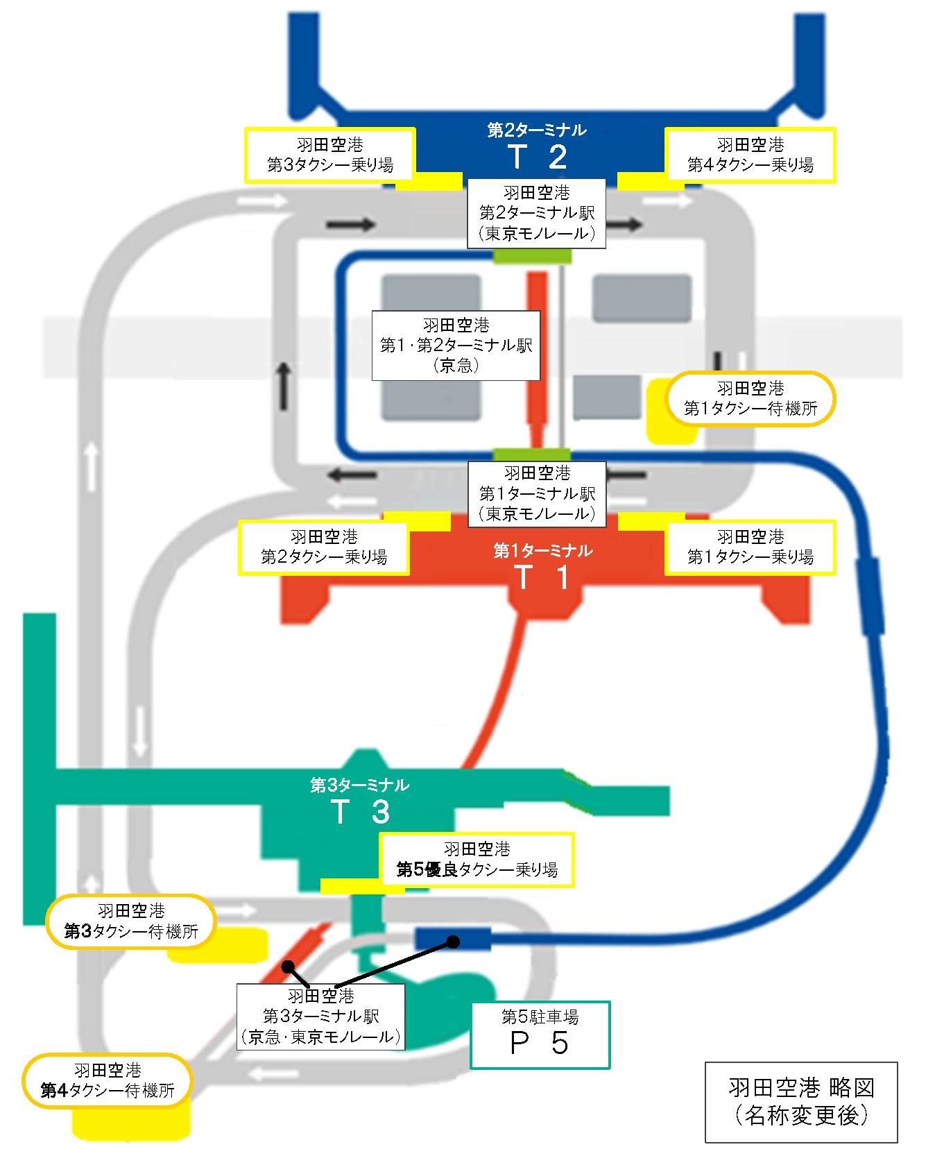 羽田 第 二 ターミナル 駐 車場